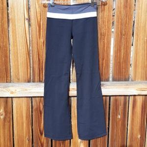 Lululemon yoga workout pants boot cut sz 4 black